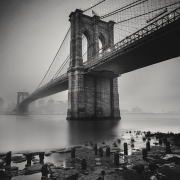 Fog, Brooklyn Bridge