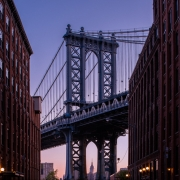 Dawn, Manhattan Bridge